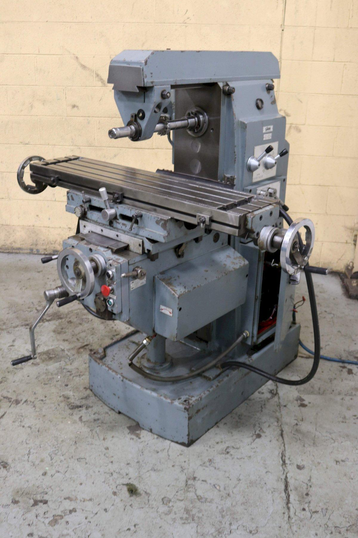 FEXAC HORIZONTAL MILL WITH VERTICAL HEAD : STOCK #72578