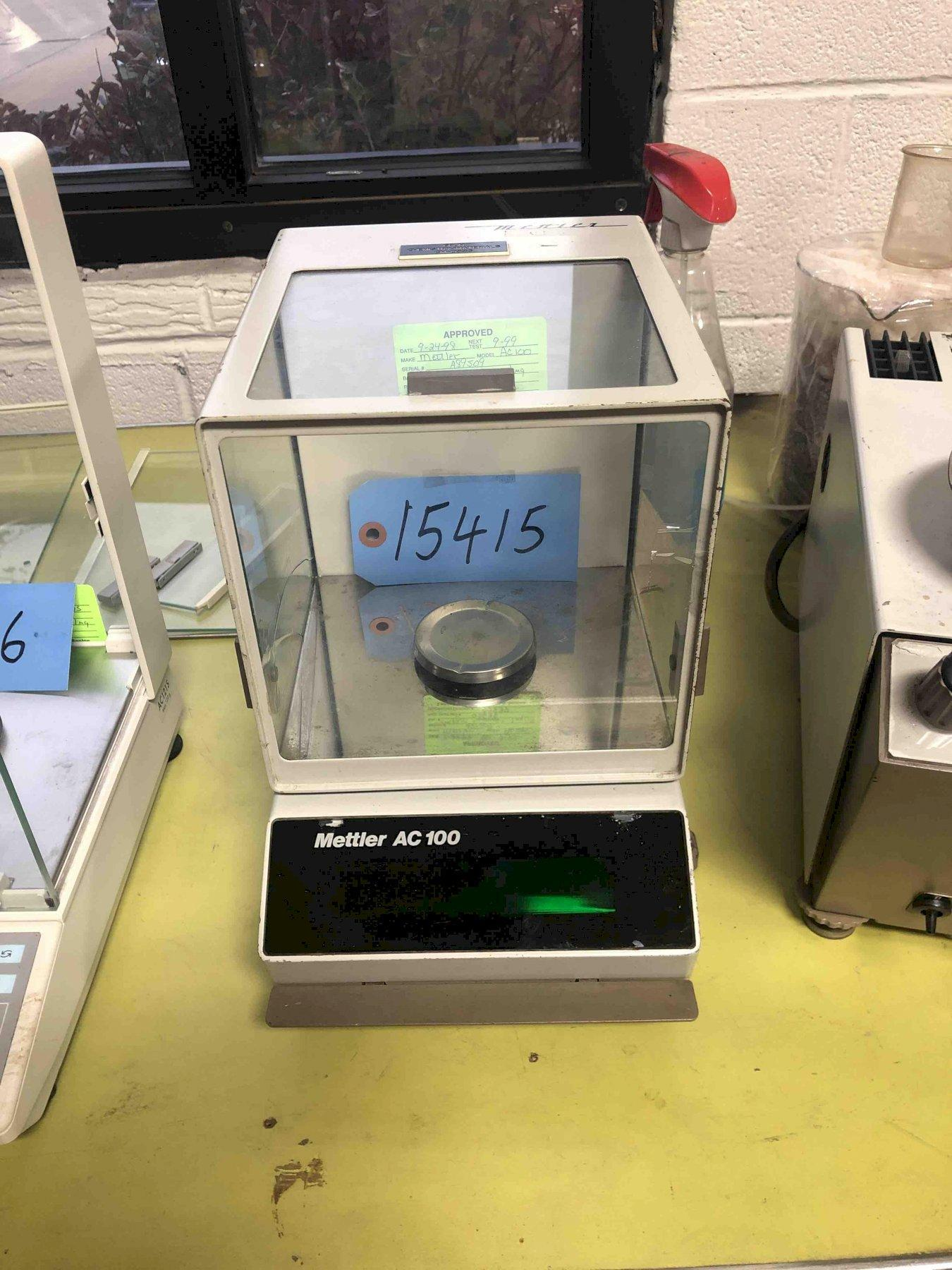 Mettler AC100 Digital Analytical Balance Lab Scale