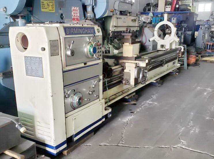 "40"" x 160"" BIRMINGHAM MODEL DL40 GAP BED ENGINE LATHE"