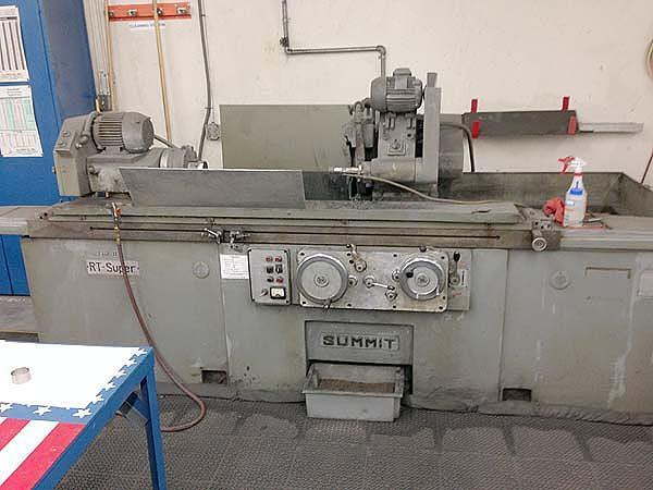 "12""x 60"" SUMMIT UNIVERSAL CYLINDRICAL, Model SUPER RT, 12"" Swing, 60"" Centers, 14"" Grinding Wheel, Swing Down ID. Swivel Workhead and Wheel Head, New 1972,"