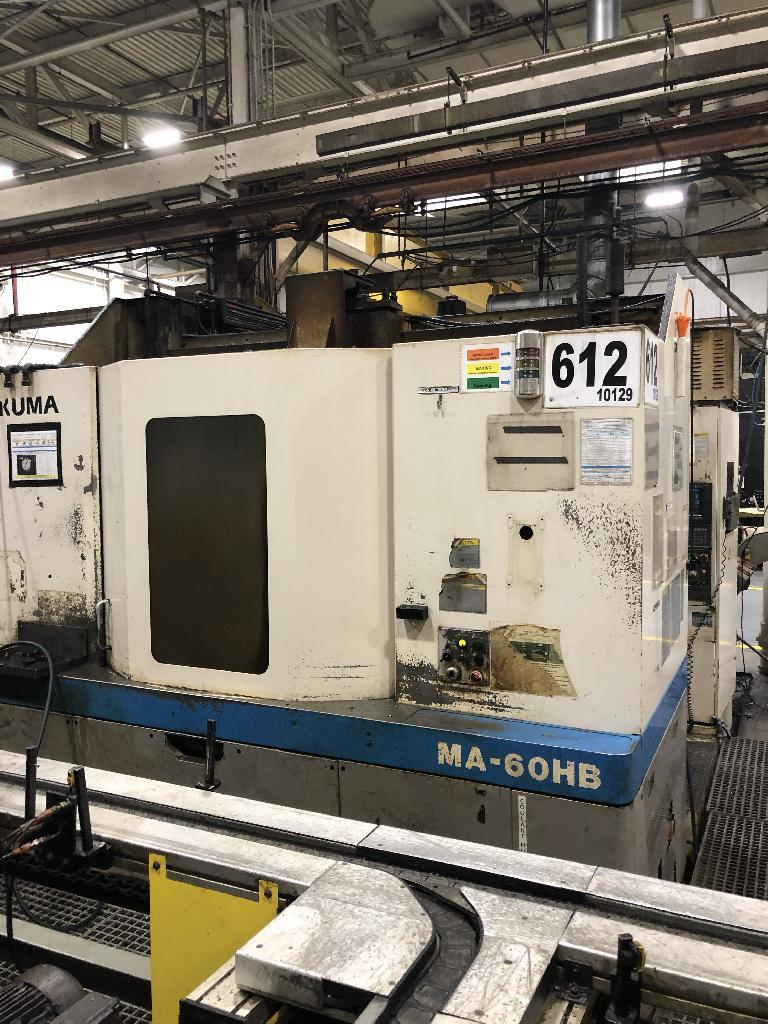 OKUMAMakino MA-60HB CNC 4-Axis Horizontal Machining Center