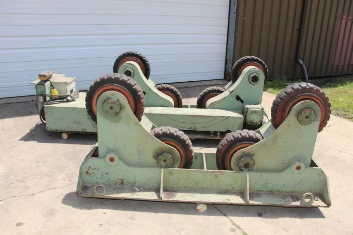 15 TON X  BODE #SAR-300 SELF ALIGNING TANK TURNING DRIVE ROLL & IDLER ROLL: STOCK #10407