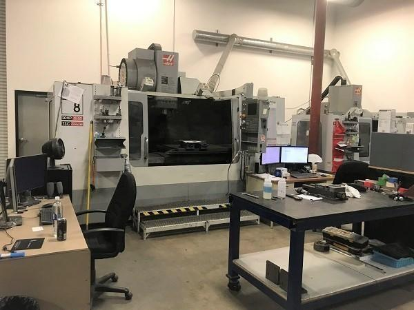 2006 Haas VF-8D/40 CNC Vertical Machining Center