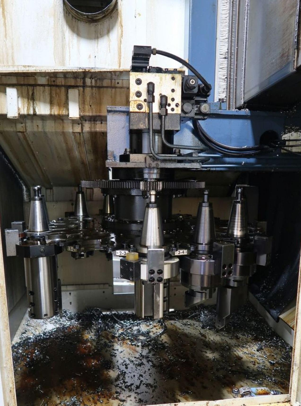You Ji YV-1000 ATC+C CNC Vertical Lathe