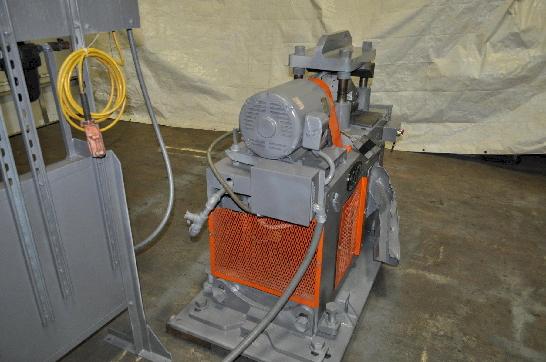 25 Ton Tishken Cut Off Press