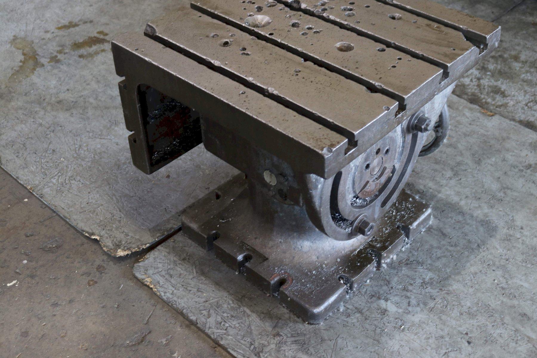 24' X 24' X 23' UNIVERSAL BOX DRILL TABLE: STOCK #73088