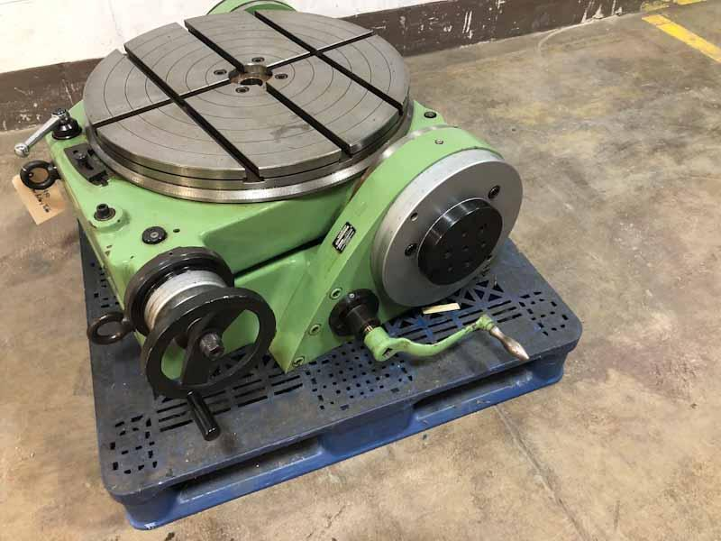 "24 ¾"" Walters Model R+S 630 Precision Tilting Rotary Table"