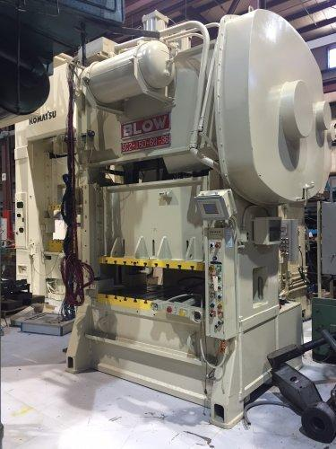 150 Ton Blow SC2-150-60-36 Straight Side Press