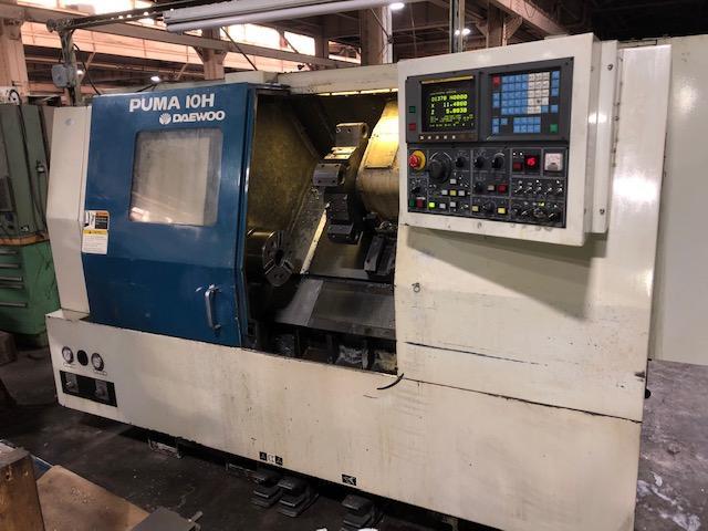 Daewoo Puma 10HC CNC Lathe Model: Puma 10HC Mfg: 1995