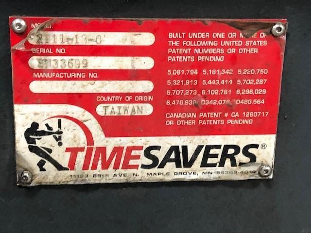 "Timesaver 2100 Series 37"" Belt Sander, Metal, Wet"