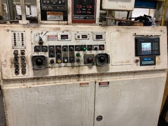 MINSTER 600 TON SSDC PRESS, MODEL E2-600-120-54, STOCK# 14107J
