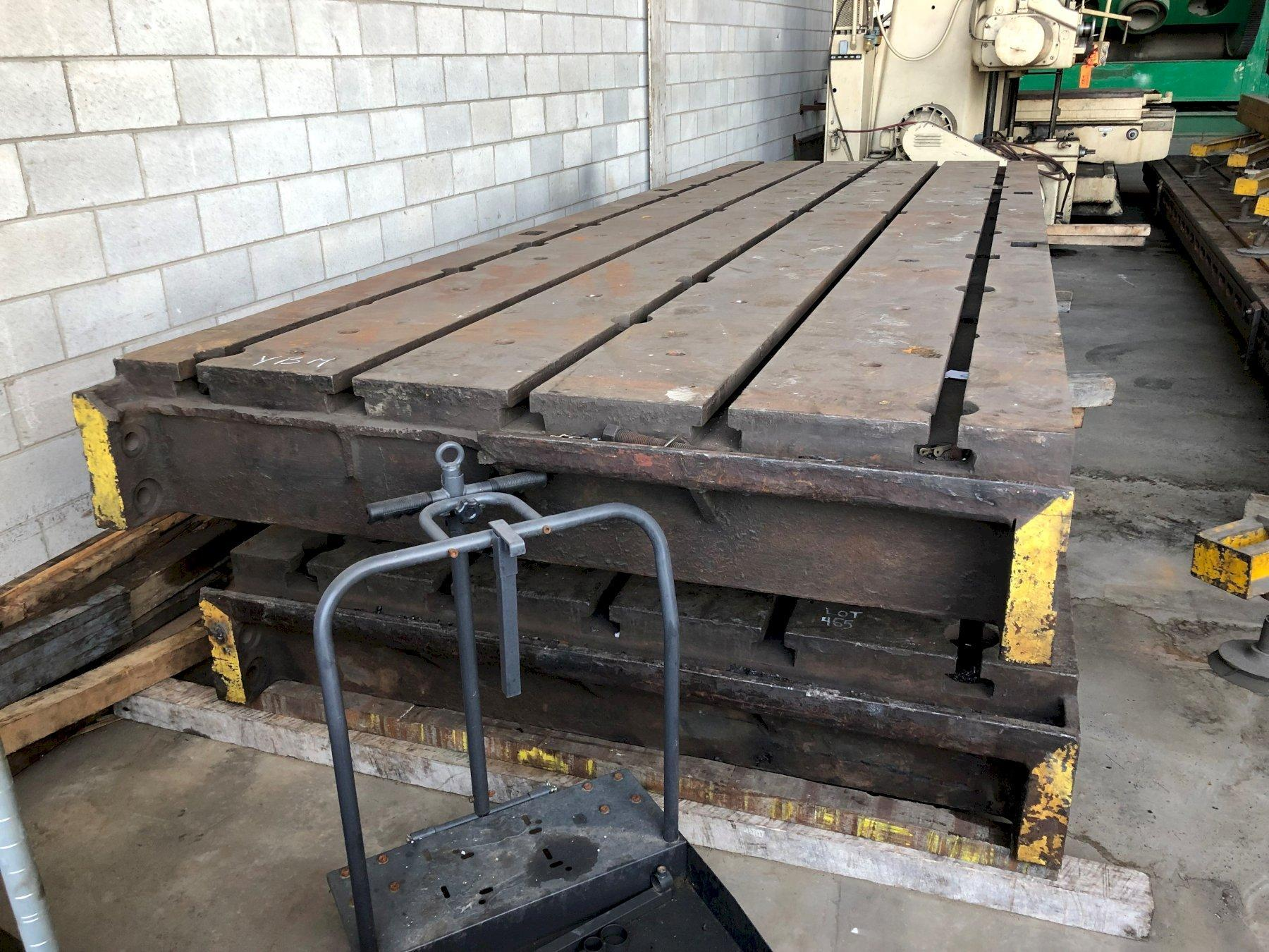 """77"""" x 226"""" x 13 3/4"""" T-Slotted Floor Plate"""