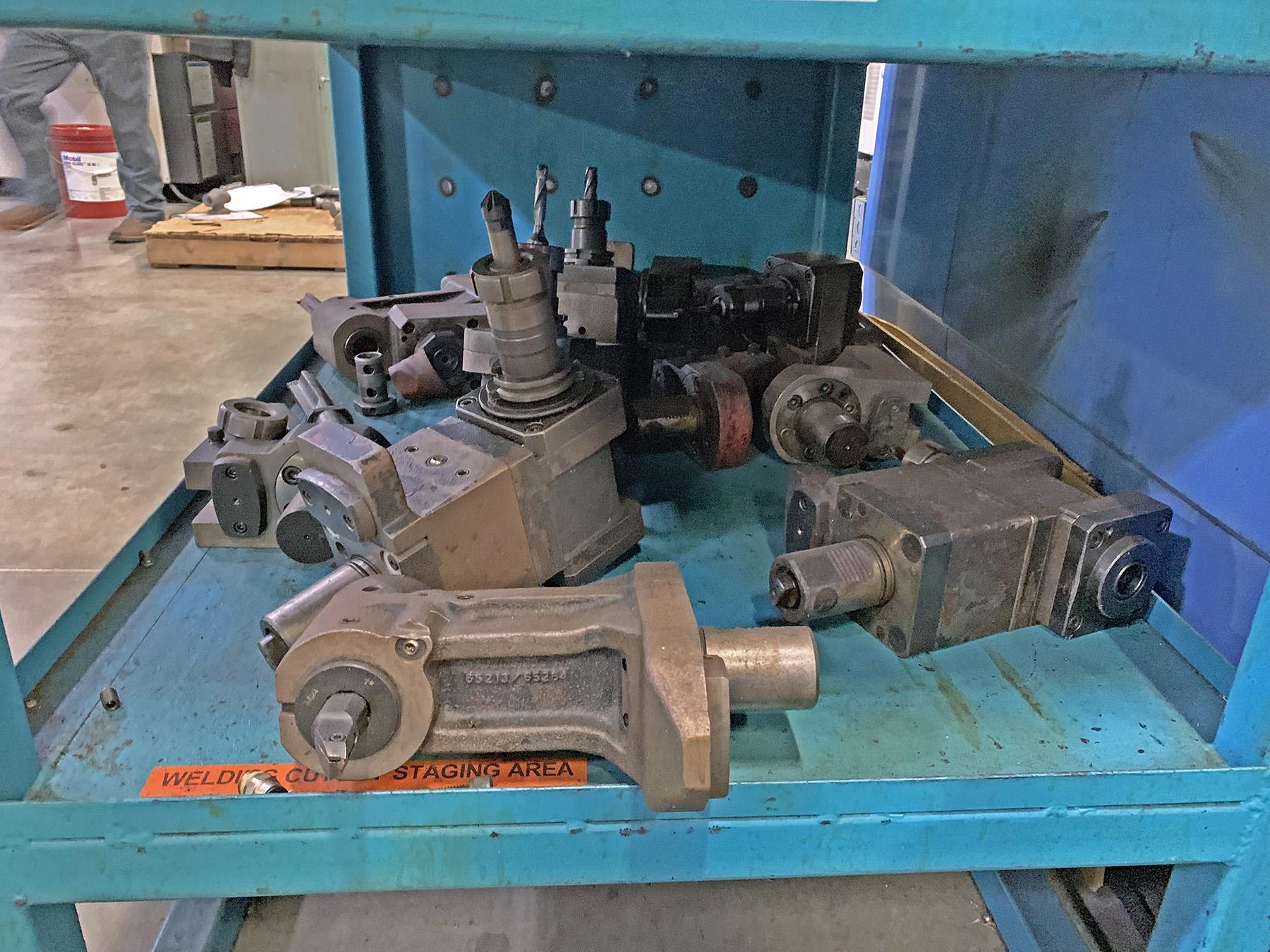 USED, MAZAK MULTIPLEX 630 CNC TURNING AND MILLING CENTER