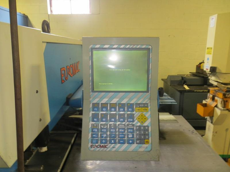 Used 44 Ton, IMAC CNC Punch Machine, Model HP 750 CNP