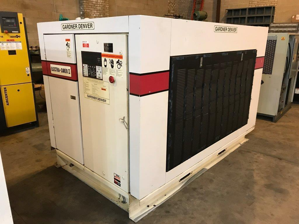 75 Hp Gardner-Denver Rotary Screw air compressor