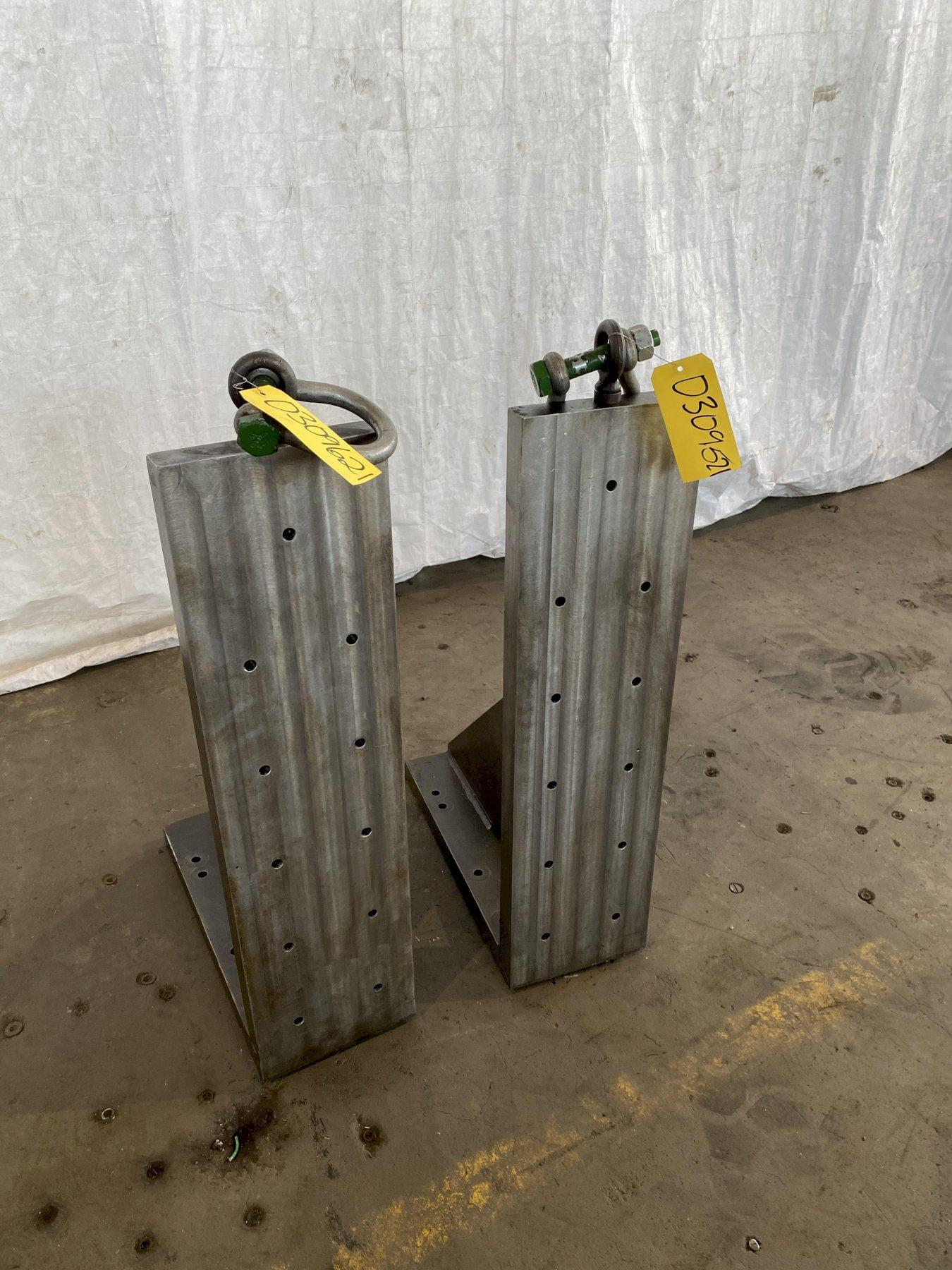 "38"" T X 10"" W X 24"" D ANGLE PLATE. STOCK # 0309621"
