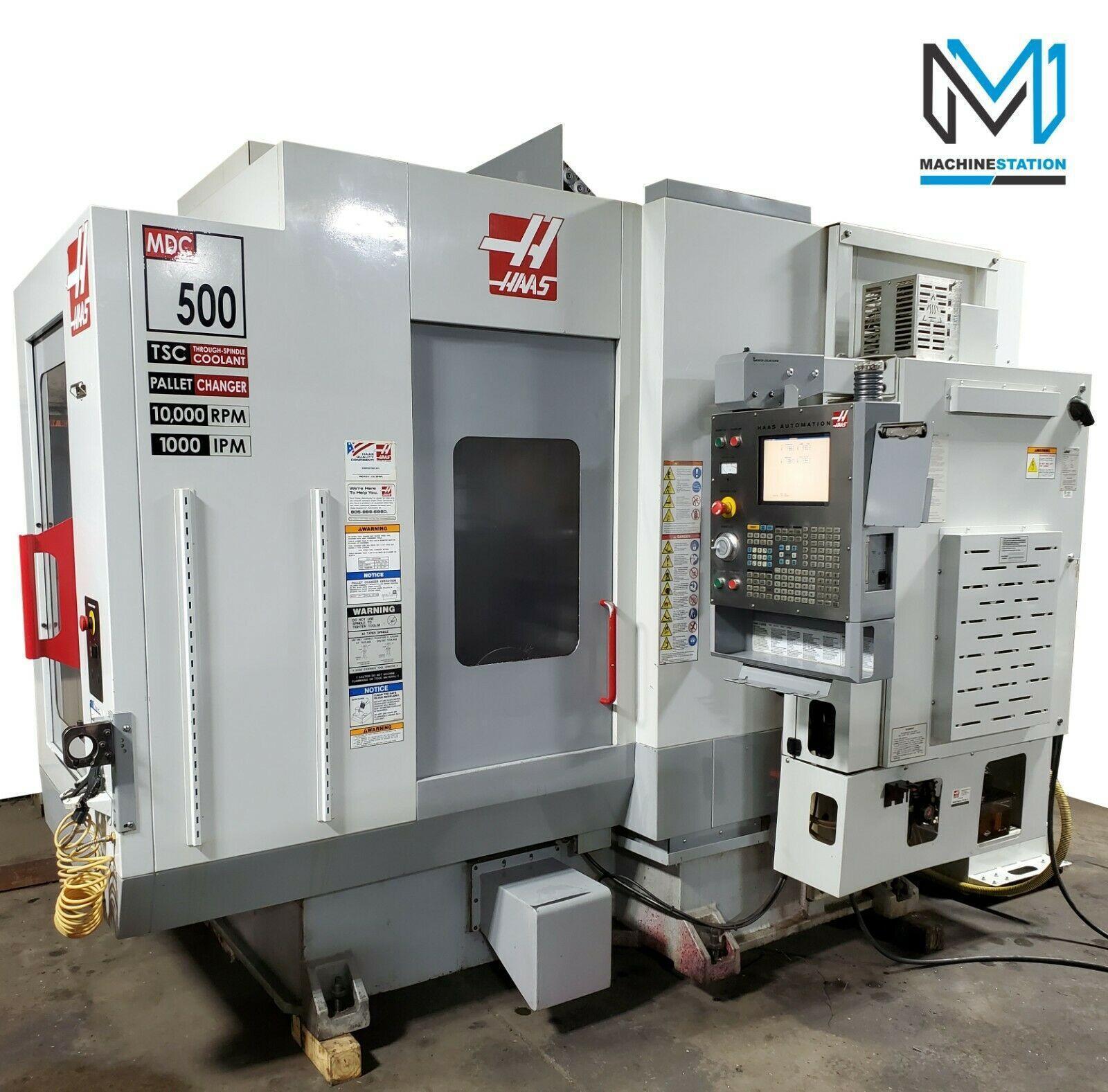 HAAS MDC-500 VERTICAL MILL DRILL MACHINING CENTER CNC MILL