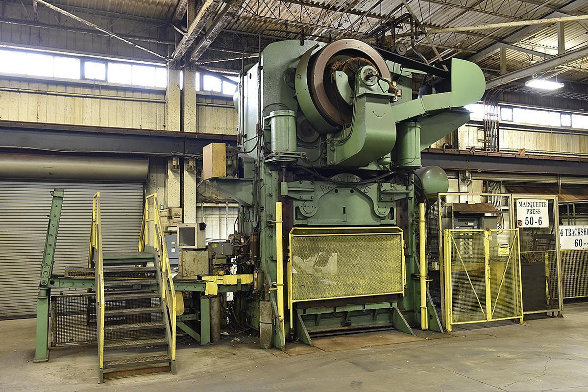 1500 TON MARQUETTE PRESS: STOCK #68750