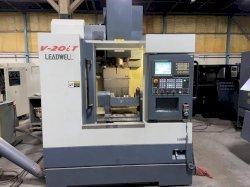 Leadwell V20i CNC 5-Axis Vertical Machining Center, Fanuc 0iMD, 20