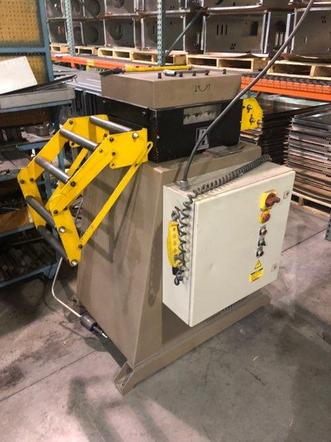 "12"" x .138"" PA INDUSTRIES SERVO FEEDER & STRAIGHTENER WITH FEEDLEASE UNCOILER: STOCK #10787"