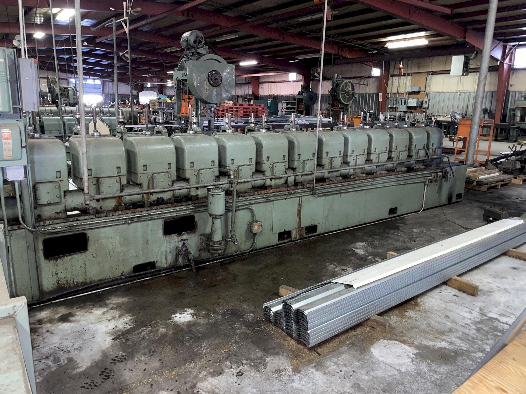 """15 STAND X 2.5"""" X 40"""" YODER MODEL #M-2-1/2 ROLLFORMER: STOCK #15515"""