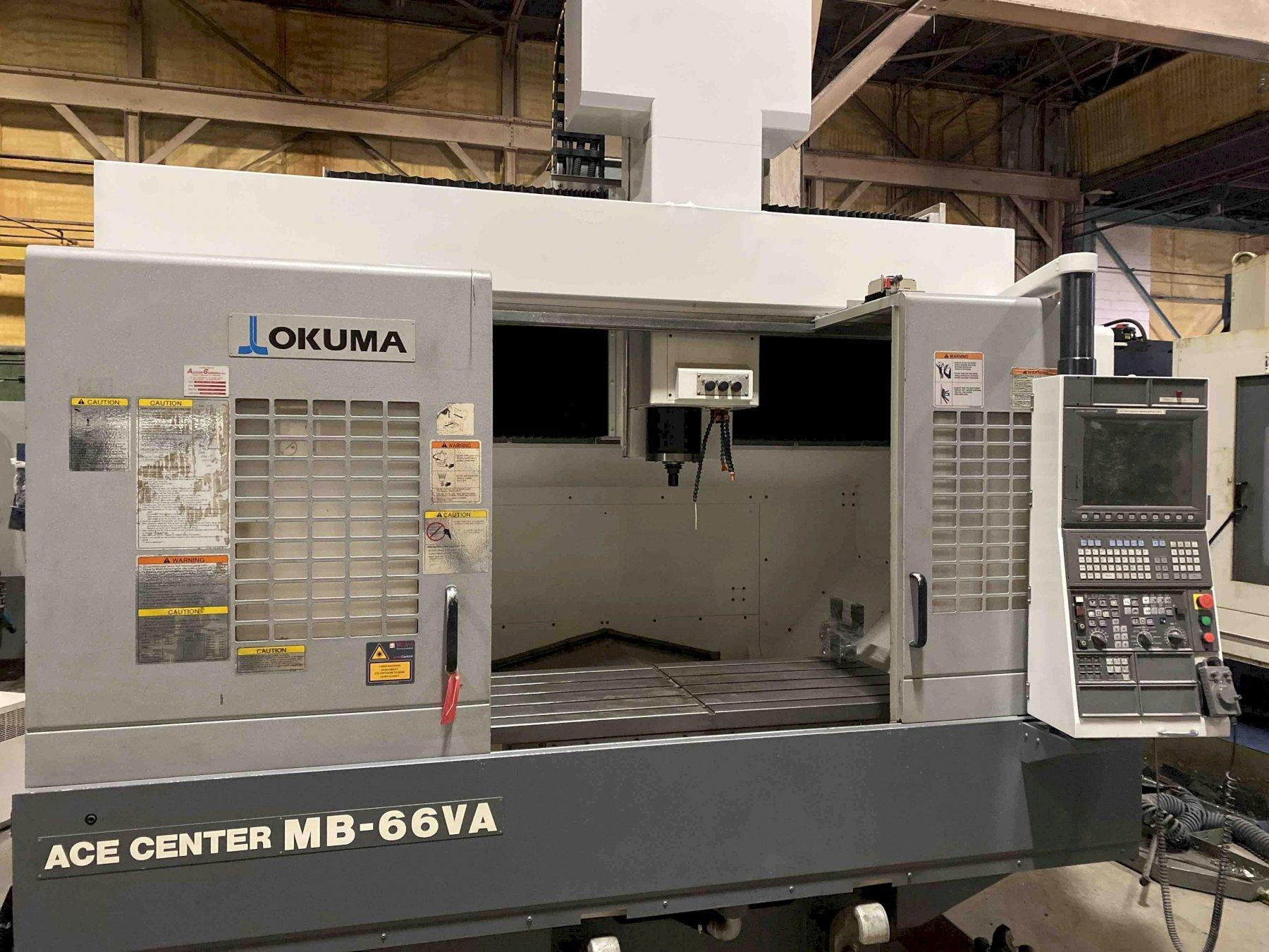 Okuma Ace Center MB66VA CNC Vertical Machining Center, OSP P200M, 59