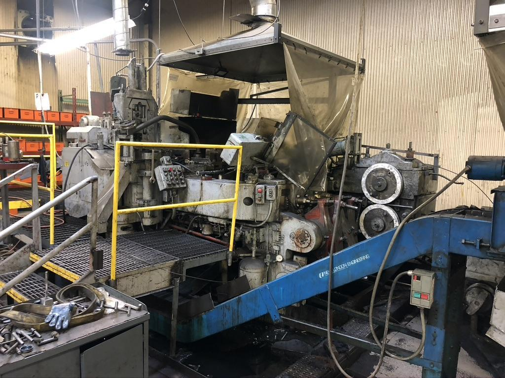 """3/4"""" National Machinery 4 Die Boltmaker"""