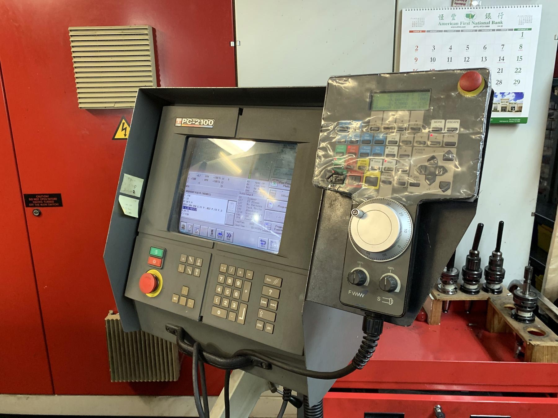 USED, TREE JOURNEYMAN 425 CNC VERTICAL MILLING MACHINE