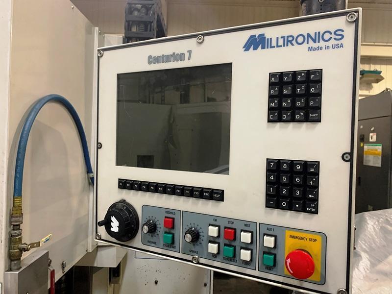 MILLTRONICS RH20 CNC VERTICAL MACHINING CENTER