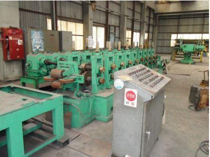 """7.9"""" (200mm) x 3.2mm C-Channel Forming Line NEW 1998"""