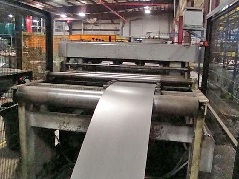 "36"" x 0.075"" 20,000# Iowa Precision Cut To Length Line"