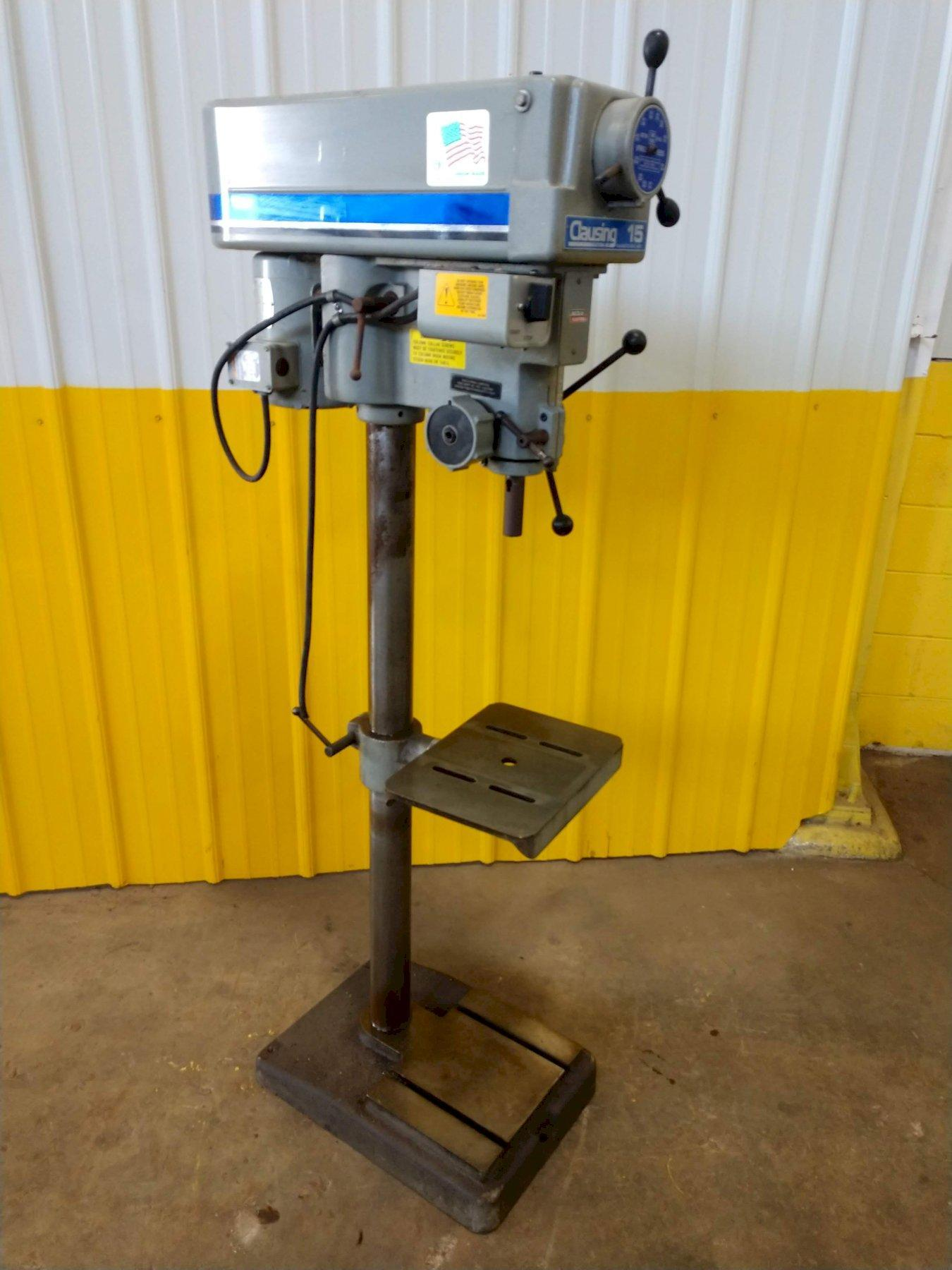 """15"""" CLAUSING SINGLE SPINDLE DRILL: STOCK#12626"""
