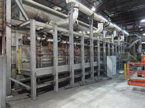 50' OLSON INDUSTRIES CAR BOTTOM FURNACE   Our stock number: 114949