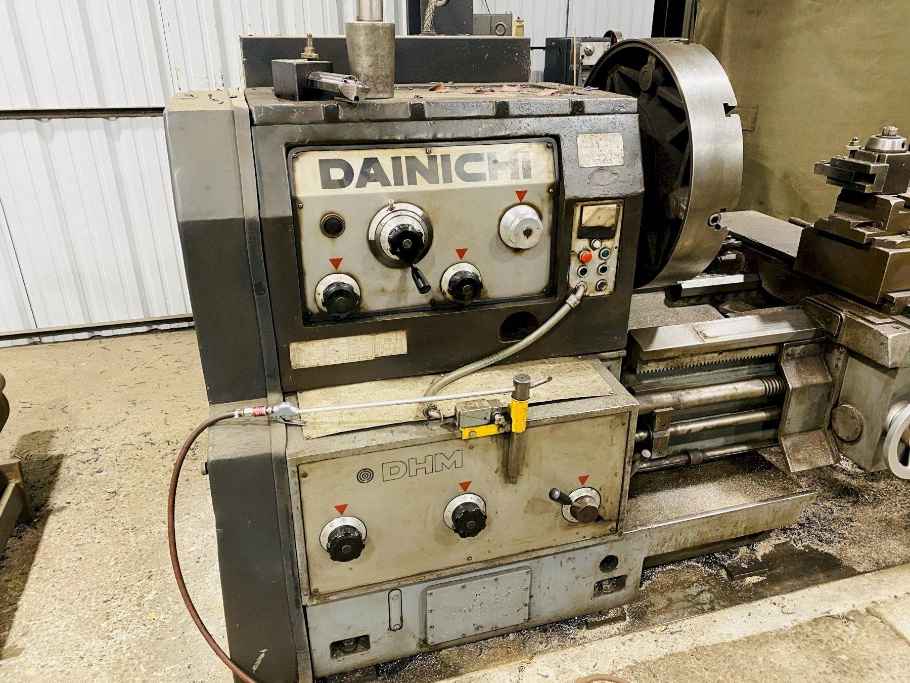"36"" X 180"" DAINICHI DHM90X500 ENGINE LATHE. STOCK # 1159820"