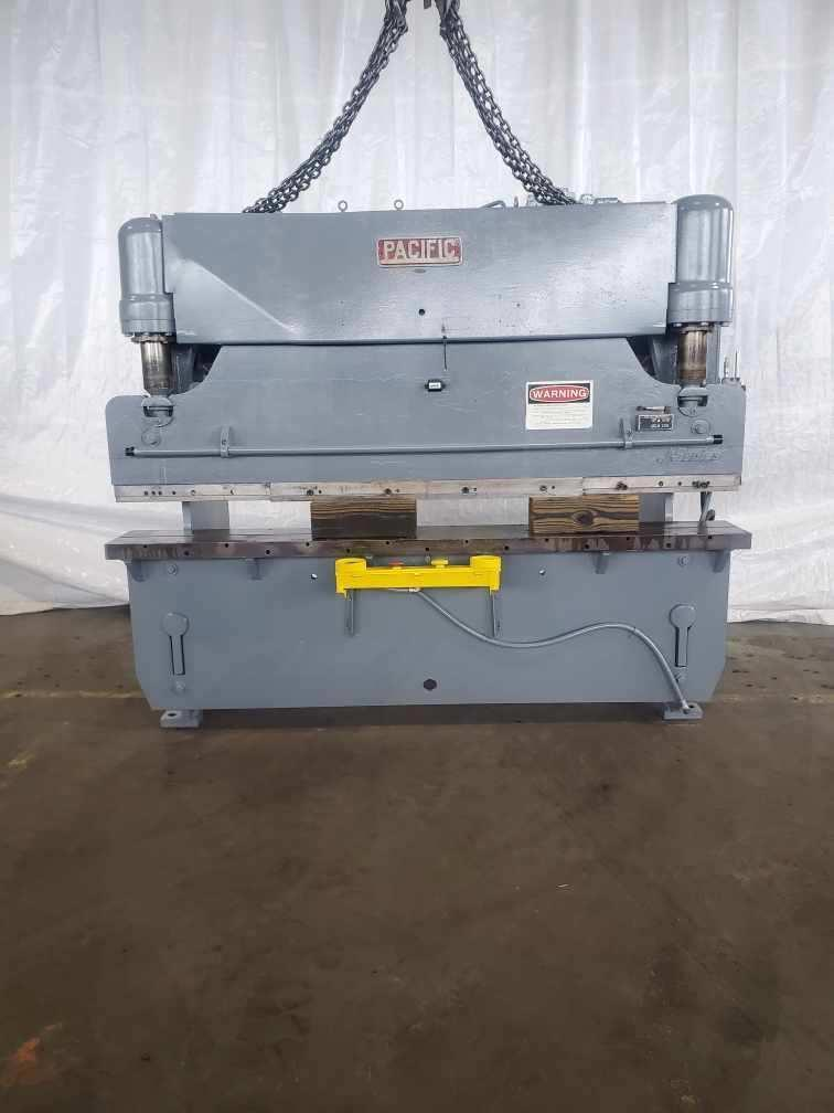 55 TON X 8' PACIFIC J55-8 HYDRAULIC PRESS BRAKE. STOCK # 0605620