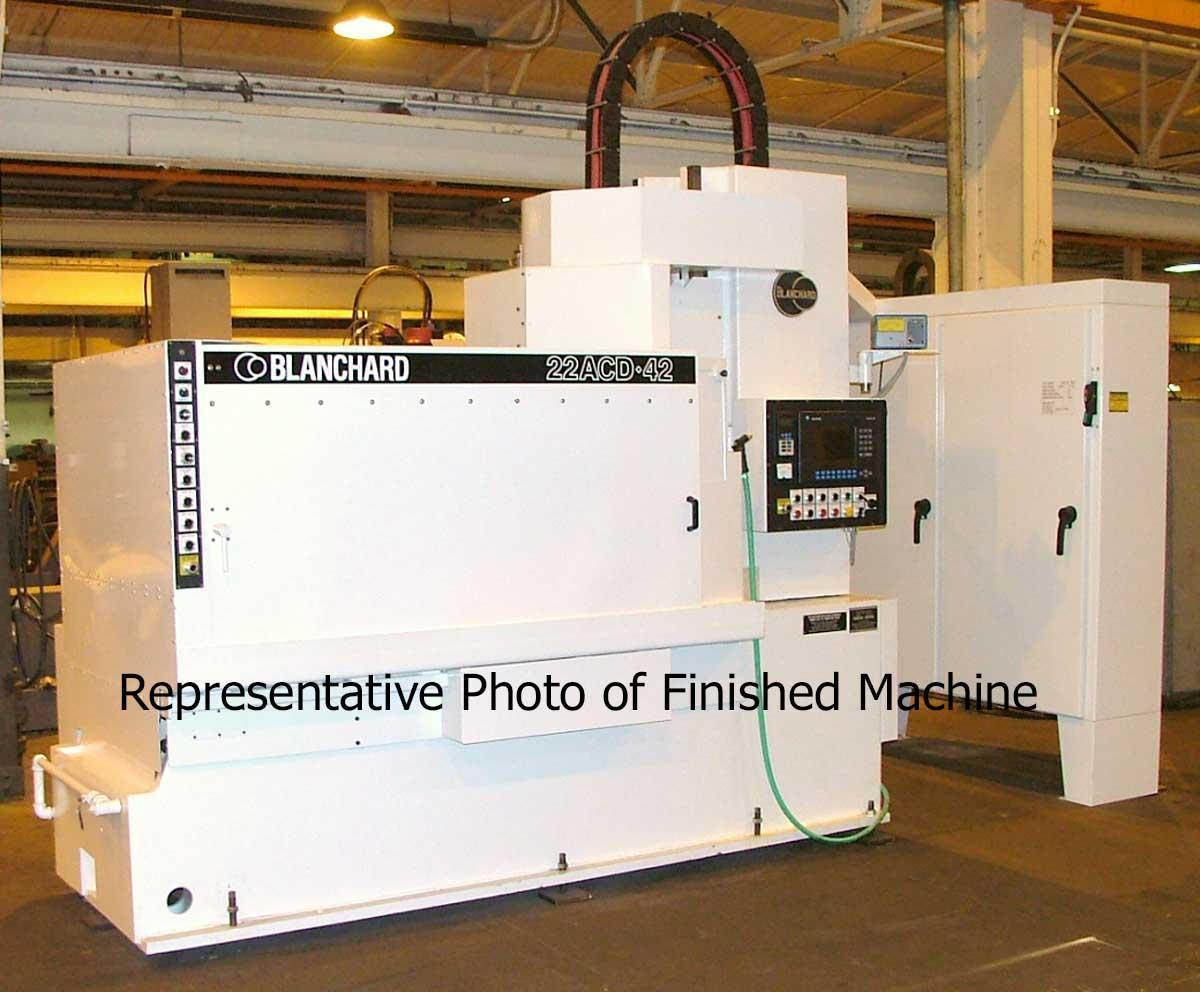 Blanchard #20AD-36 Vertical Rotary Surface Grinder, Re-manufactured