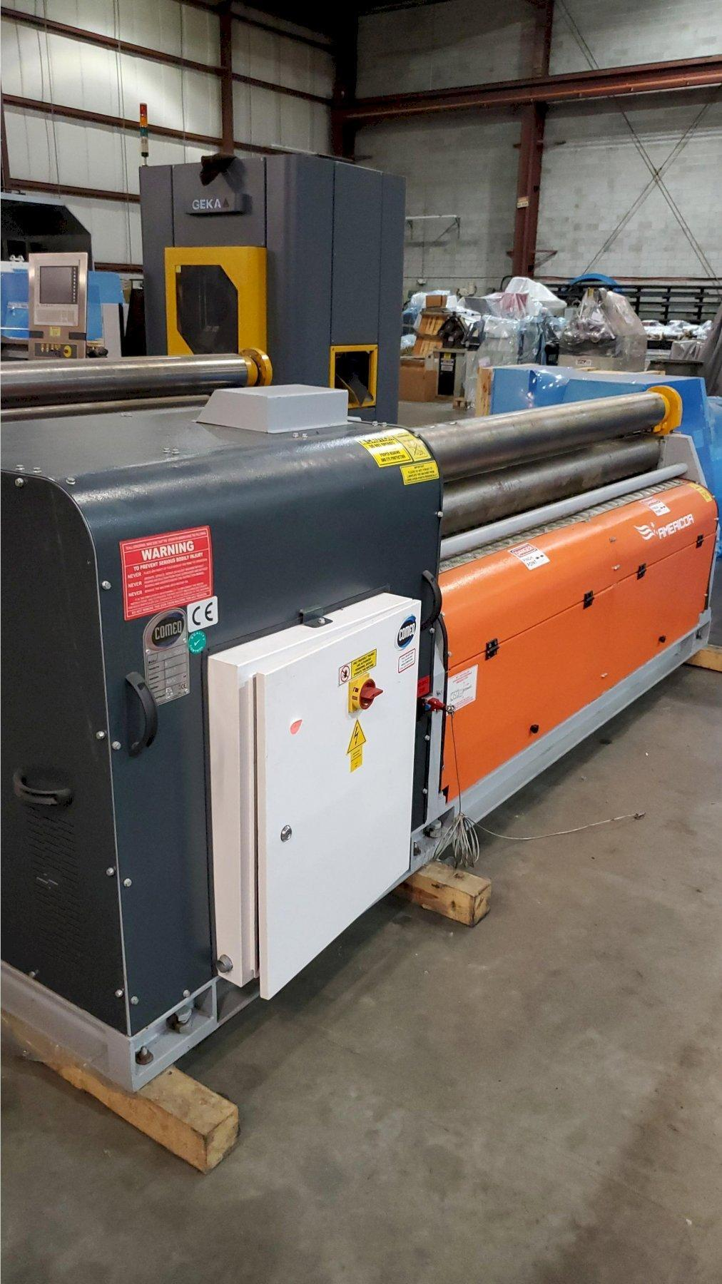 "5.90"" Diameter x 6 ft Americor Hydraulic 3-Roll Plate Bending Roll Model 3RSP 150/6"