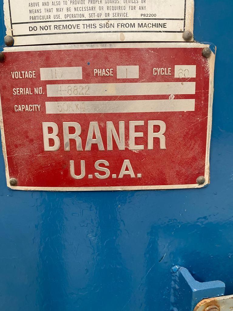 """60"""" x 50,000# Braner 4 Arm Turnstile  (1999)"""