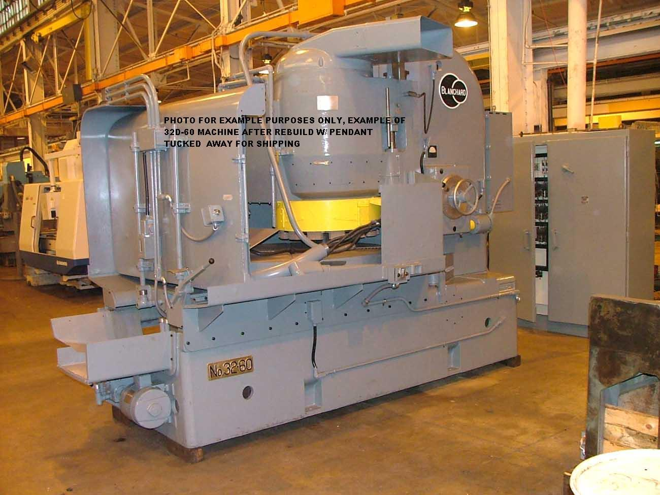 Blanchard #32D-60, 60″ Vertical Spindle Rotary Surface Grinder-Remanufactured W/1 YR Warranty