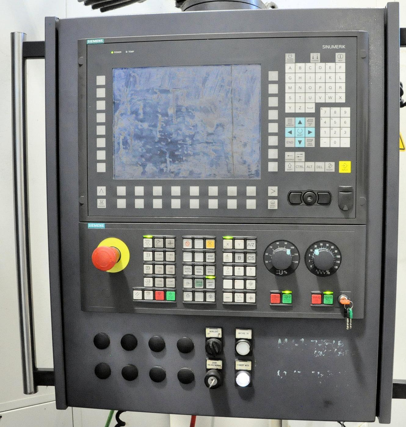 Giddings & Lewis HMC-1250 4-Axis CNC Horizontal Machining Center
