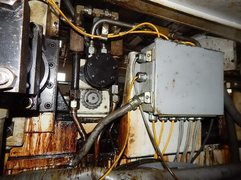 "Used VULCAN BREHM AUTOMATIC TUBE CUTOFF MACHINE, Model V275-AC-L-20-LH, 2.75"", Stock No. 10524"