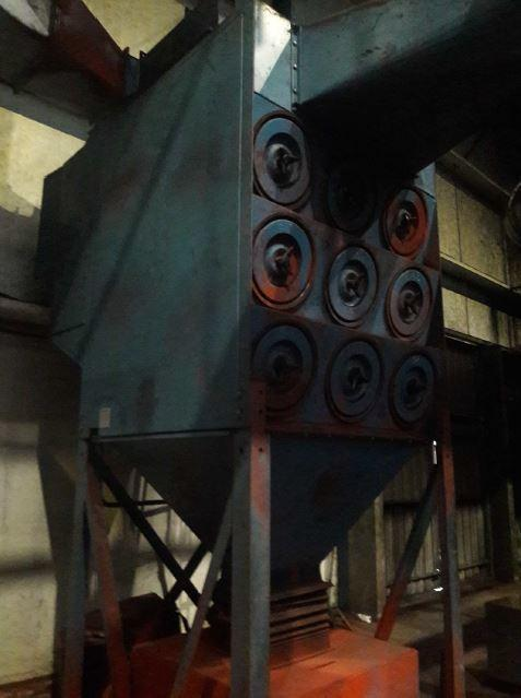 "98.5"" (2500mm) Gietart Shot Blasting / Painting / Drying Complete Line"