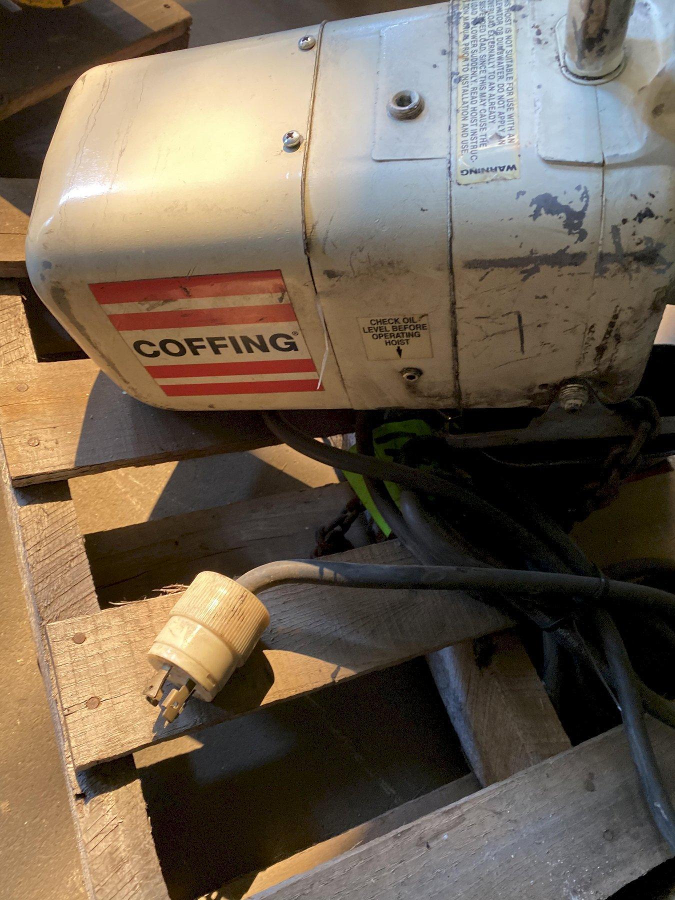 1/4 Ton Coffing Electric Hoist
