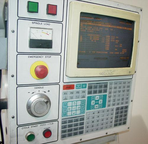 """HAAS HL-6 Haas CNC Control, 15"""" Chuck, 40"""" Swing over Bed, Tailstock w/ 51"""" Centers, 30 HP, New 1998."""