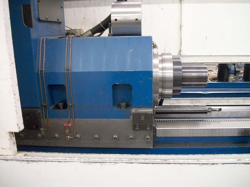 "3"" x 80"" Unisig CNC Deep Hole Drill, Model USK75-2000, Fanuc 0i CNC Control, 40"" x 66"" CNC Table, Counter Rotation Attachment, New 2008."