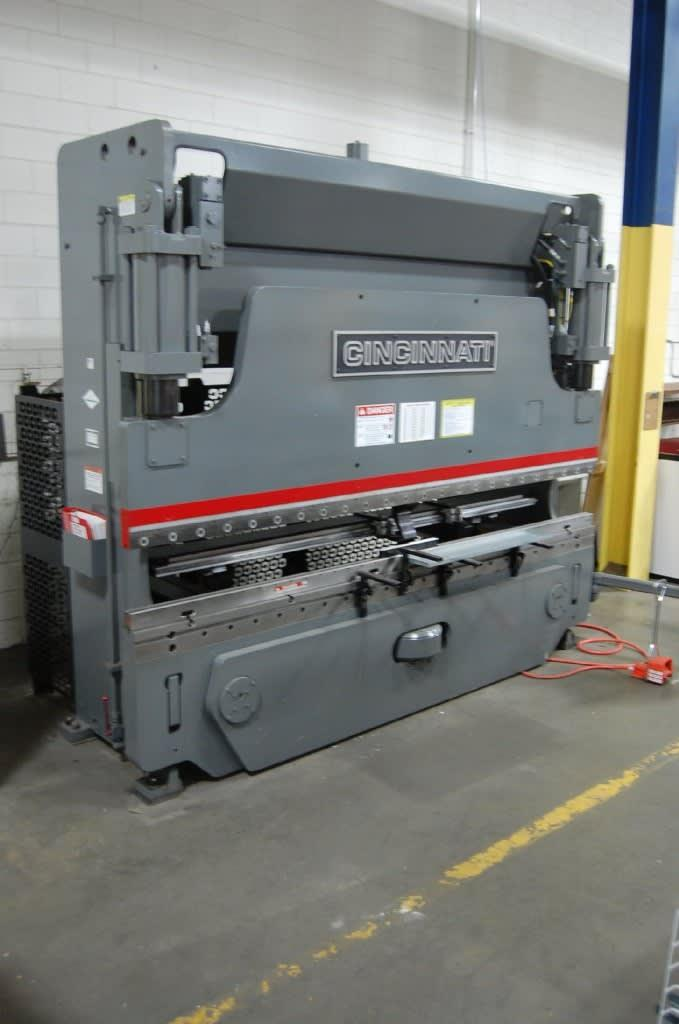 "USED CINCINNATI 135 TON X 12' ""PROFORM SERIES"" CNC HYDRAULIC PRESS BRAKE, 135PF+10,  2015,  Stock No. 10609"