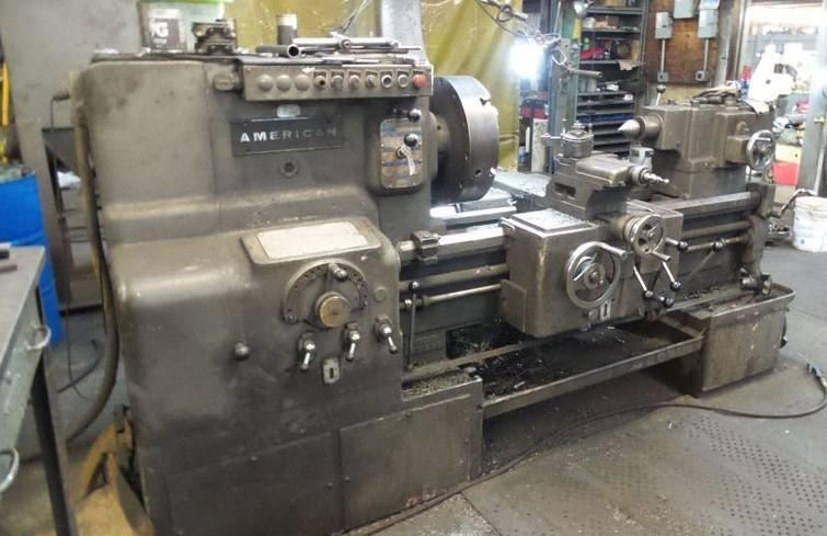 "22"" X 30"" AMERICAN ENGINE LATHE: STOCK #12650"