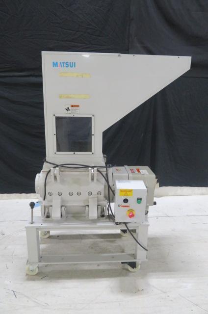 Matsui Used SMGL-300U Granulator, 16 x 16 in, 3hp, 230V, Yr. 2013