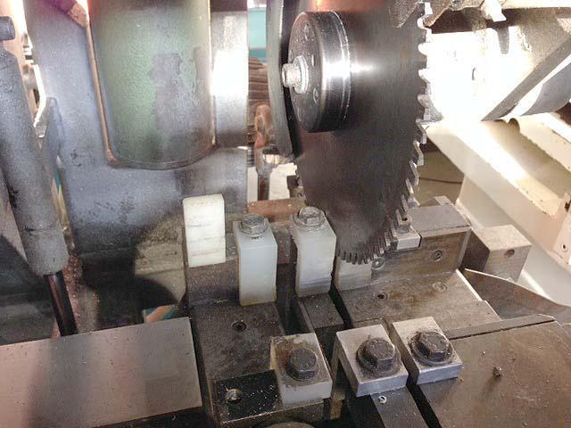 """BEWO 315 AF/HY AUTOMATIC COLD SAW, Model 315 AF/HY, 12"""" Blade Diameter, 3-1/2"""" Round Capacity, Automatic Stock Feed, Pneumatic Vises."""