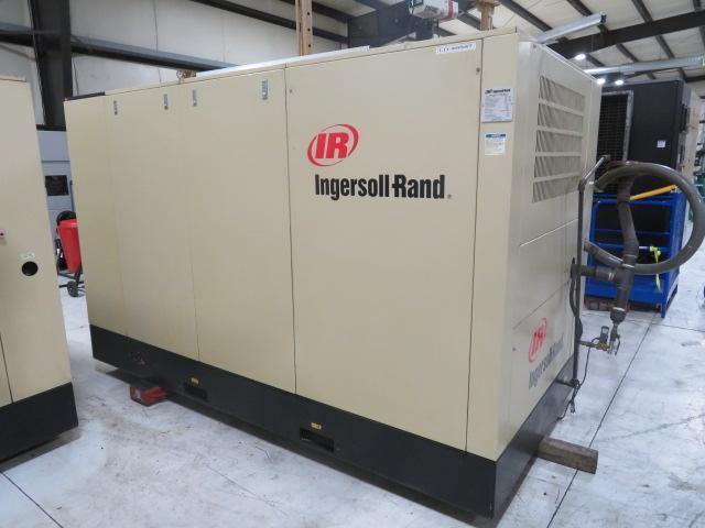 Ingersoll Rand Used SSR-ER150 Air Cooled Air Compressor, 150hp 460V